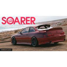 Ducktail and Roof spoiler kit for Soarer, Lexus SC300, Lexus SC400 - Exclusive Design by KFD Team