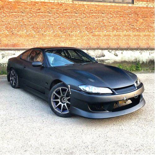 Front bumper GP Sports style for Nissan Silvia S15 99-02