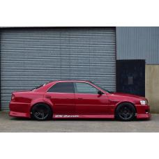Side skirts BN sports style for Chaser X100