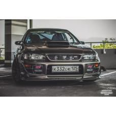 Front lip C-West style for Impreza gc8 ver.6 WRX STI