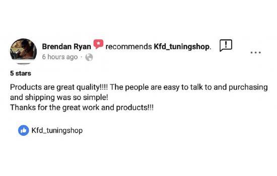 Brendan Ryan reviewed our goods