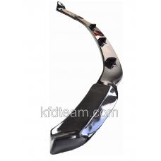 Front lip for BMW f85 - f110 M-package bumper (Carbon - FRP Composite)