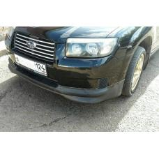 Front lip STI Optional style for Subaru Forester SG