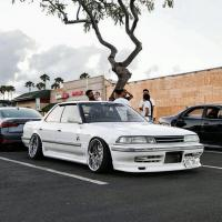 Front lip Yamaha style for Mark2 jzx81 hard top KFD